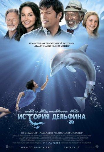 Смотреть История дельфина онлайн в HD качестве 720p