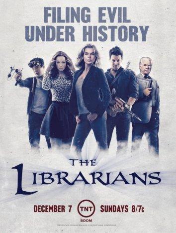 Смотреть Библиотекари онлайн в HD качестве 720p
