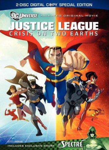 Смотреть Лига Справедливости: Кризис двух миров онлайн в HD качестве 720p
