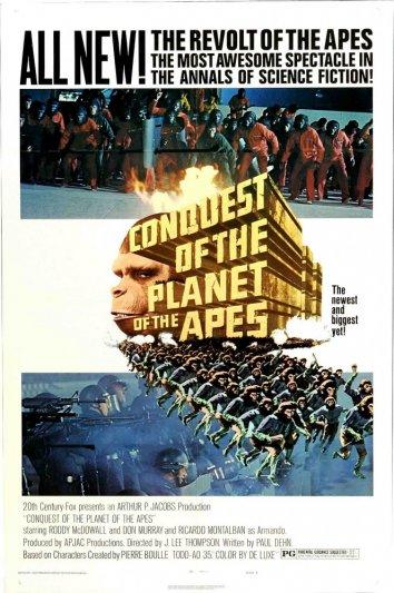 Смотреть Завоевание планеты обезьян онлайн в HD качестве 720p