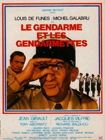Смотреть Жандарм и жандарметки онлайн в HD качестве 720p