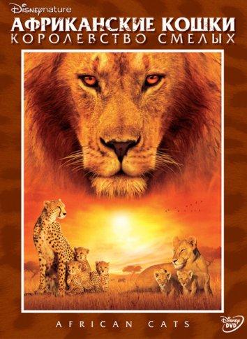 Смотреть Африканские кошки: Королевство смелых онлайн в HD качестве 720p