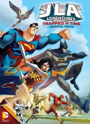Смотреть Лига Справедливости: В ловушке времени онлайн в HD качестве 720p