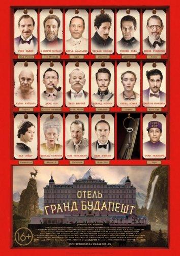 Смотреть Отель «Гранд Будапешт» онлайн в HD качестве 720p
