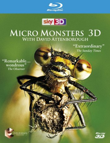 Смотреть Микромонстры 3D с Дэвидом Аттенборо онлайн в HD качестве 720p