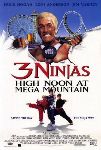 Смотреть Три ниндзя: Жаркий полдень на горе Мега онлайн в HD качестве 720p