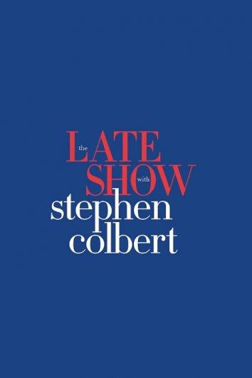 Смотреть Вечернее шоу со Стивеном Колбером онлайн в HD качестве 720p
