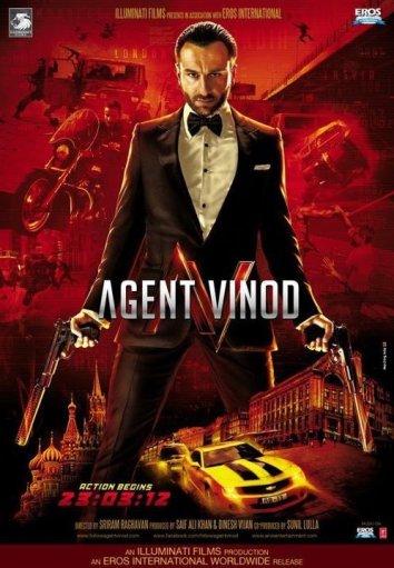 Смотреть Агент Винод онлайн в HD качестве 720p