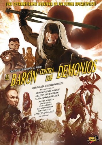 Смотреть Барон против демонов онлайн в HD качестве 720p