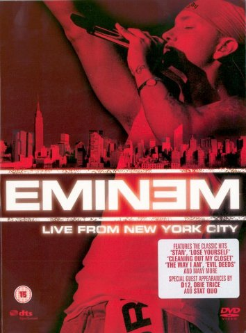Смотреть Eminem: Live from New York City онлайн в HD качестве 720p