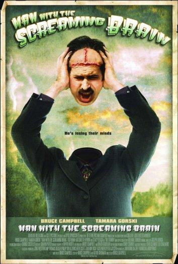 Смотреть Человек с кричащим мозгом онлайн в HD качестве 720p