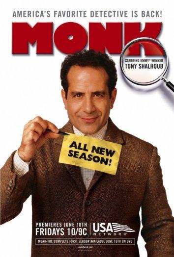 Смотреть Дефективный детектив / Детектив Монк онлайн в HD качестве 720p