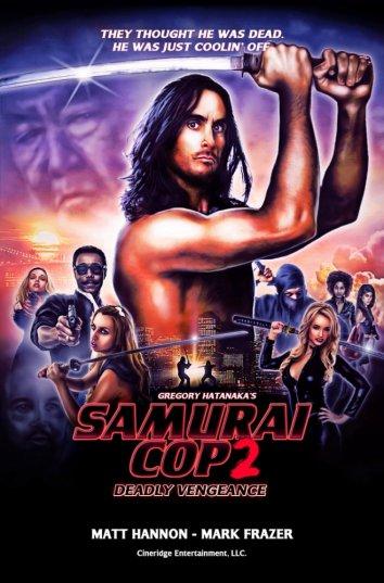 Смотреть Полицейский-самурай 2: Смертельная месть онлайн в HD качестве 720p