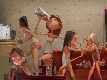 Смотреть Пьяные девки уходят в отрыв 7 онлайн в HD качестве 1080p