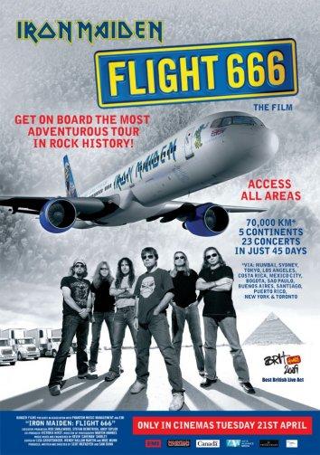 Смотреть Iron Maiden – рейс 666 онлайн в HD качестве 720p