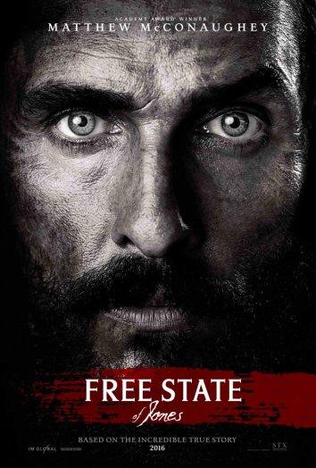 Смотреть Свободный штат Джонса онлайн в HD качестве 720p
