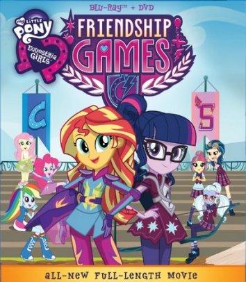 Смотреть Мой маленький пони: Девочки из Эквестрии – Игры дружбы онлайн в HD качестве 720p