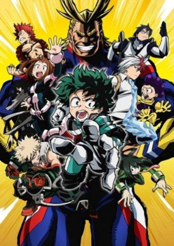 Смотреть Моя геройская академия / Академия героев онлайн в HD качестве 720p