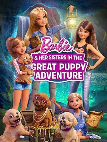 Смотреть Барби и щенки в поисках сокровищ онлайн в HD качестве 720p