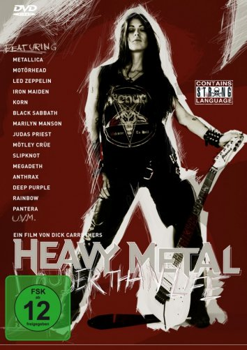 Смотреть Больше, чем жизнь: История хэви-метал онлайн в HD качестве 720p