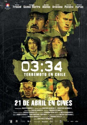 Смотреть 03:34 Землетрясение в Чили онлайн в HD качестве 720p