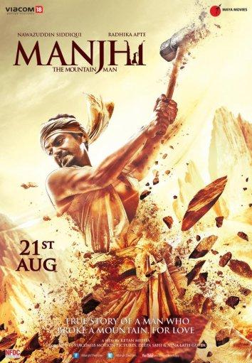 Смотреть Манджхи: Человек горы онлайн в HD качестве 720p