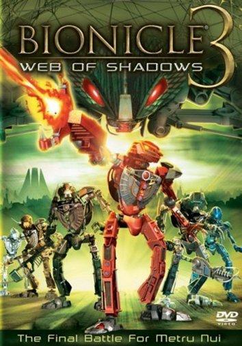 Смотреть Бионикл 3: В паутине теней онлайн в HD качестве 720p