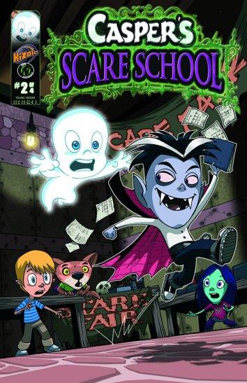 Смотреть Школа страха Каспера онлайн в HD качестве 720p