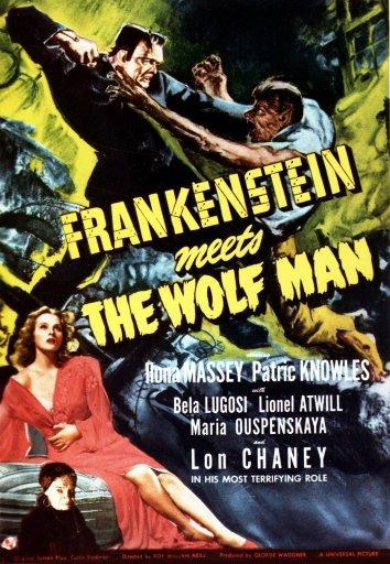 Смотреть Франкенштейн встречает Человека-волка онлайн в HD качестве 720p