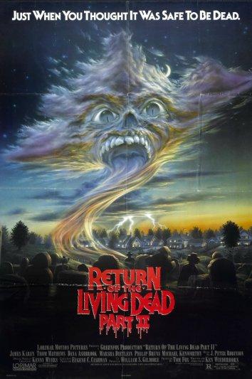 Смотреть Возвращение живых мертвецов2 онлайн в HD качестве 720p